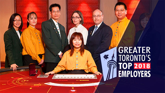 Great Blue Heron Casino Once Again Named One of GTA's Top Employers