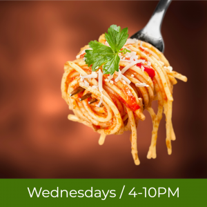 $9.99 Italian Night Dinner Buffet*